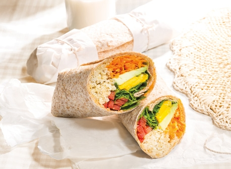 Mango & Quinoa Wraps Recipe
