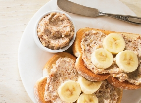 Maple-almond spread