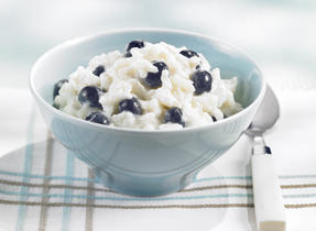 Maple Berry Rice Pudding