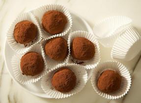 Mascarpone truffles
