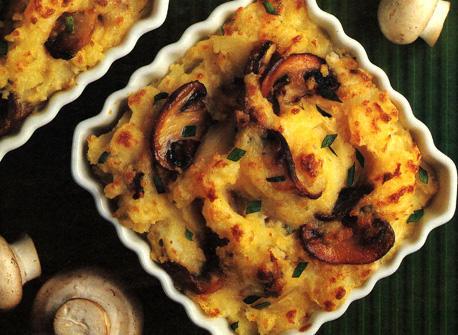 Mashed Potatoes with Mushrooms Recipe