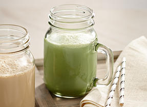 Matcha Ginger Milk Shake