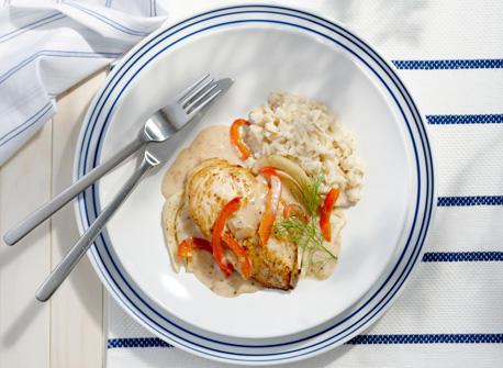 Mediterranean Chicken And Brown Rice Dinner