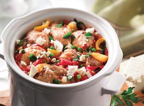 Mediterranean Chicken with Feta Topping