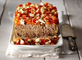Mediterranean Feta Meatloaf