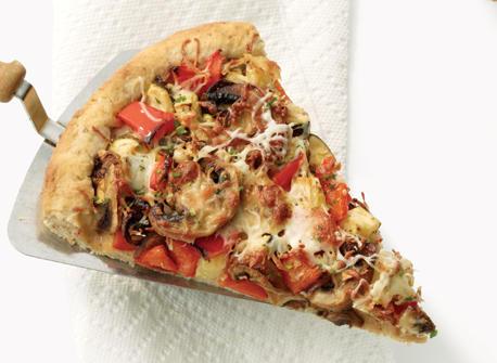 Mediterranean Vegetable Pie  Recipe