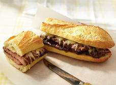 Miami short rib sandwich with Smoked Gouda
