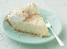 Mile-high Coconut Cream Pie