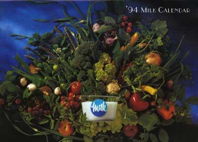 1994 Milk Calendar