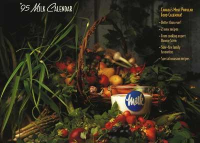 1995 Milk Calendar