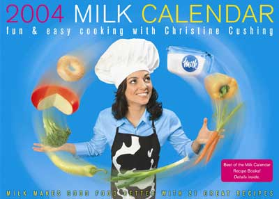 2004 Milk Calendar
