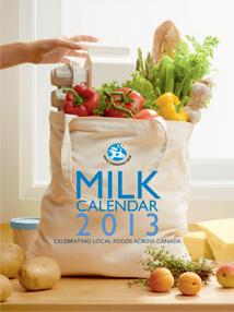 2013 Milk Calendar