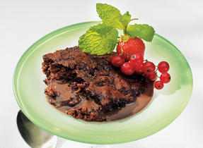 Milk Chocolate Pudding Cake