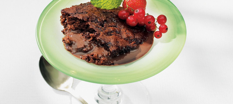 Milk Chocolate Pudding Cake recipe | Dairy Goodness