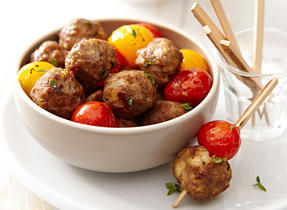 Mini Lamb Meatballs with Feta