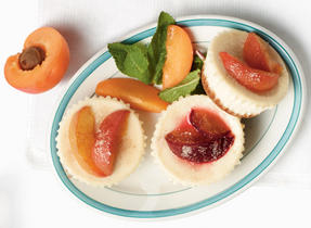 Mini Orchard Fruit Cheesecakes