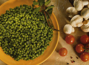 Mint Buttered Peas