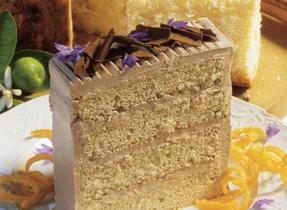 Mocha Buttercream Torte
