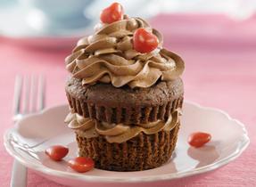 Mochaccino Layer Cupcakes