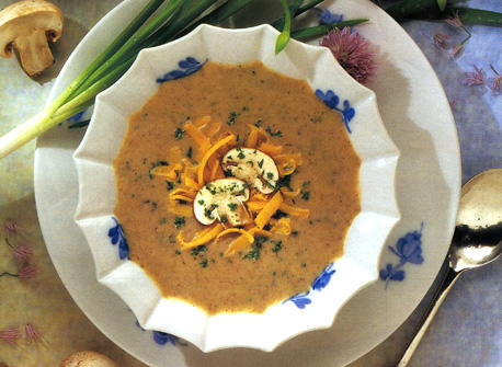 Mushroom and Cheddar Soup Recipe