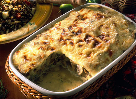 Mushroom Casserole Au Gratin recipe | Dairy Goodness