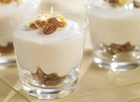No-Bake Lemon Pecan Cheesecake Cups