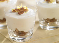 No-Bake Lemon Pecan Cheesecake Cups recipe