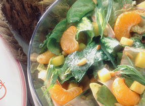 Oka Cheese and Clementine Sunny Salad
