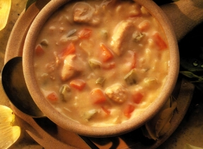 Old-Fashioned Chicken and Rice Soup