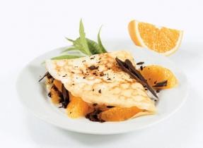 Orange Chocolate Crêpes