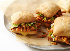 Oriental-Style Pulled Chicken Sandwich