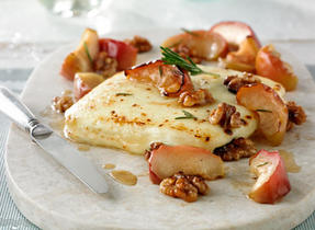 Oven-Roasted Latin Foods Queso Fresco Cheese and Apples