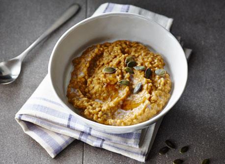 Overnight Pumpkin Porridge Recipe