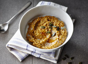 Overnight Pumpkin Porridge