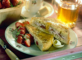 Overnight Strawberry French Toast