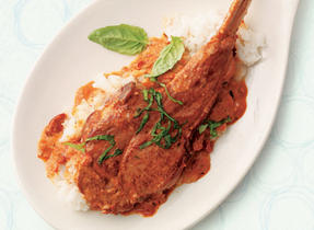 Pan Seared Veal Chops with Sun-Dried Tomato Cream