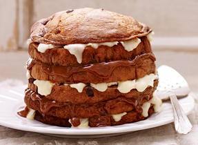 Panettone Brie Tower