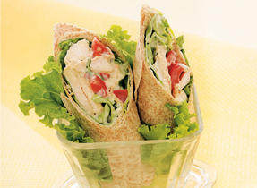 Parmesan Chicken Wraps