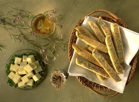 Parmesan Pick-Up Sticks Recipe