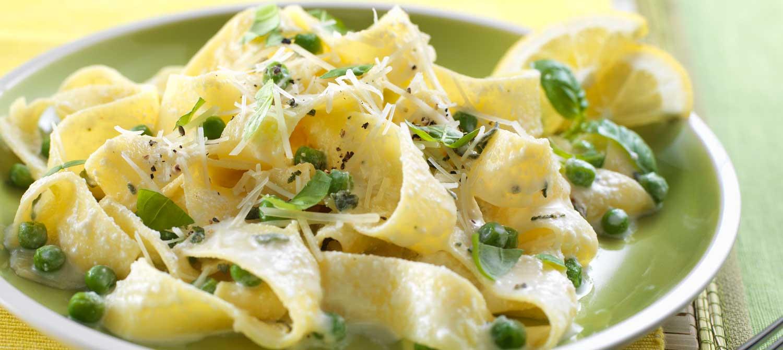Pasta al Limone with Ricotta Cheese recipe | Dairy Goodness