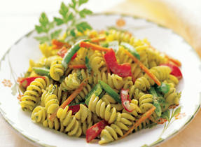 Pasta Salad with Creamy Herb Dressing