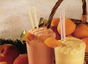 Peachy Apricot Flip
