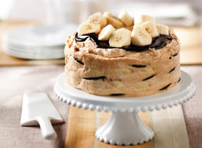 Peanut Butter and Banana Cake