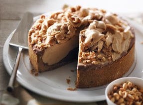 Peanut Butter and Ice Cream Pie