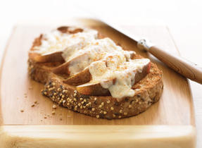 Pear Cinnamon Cheese Dreams