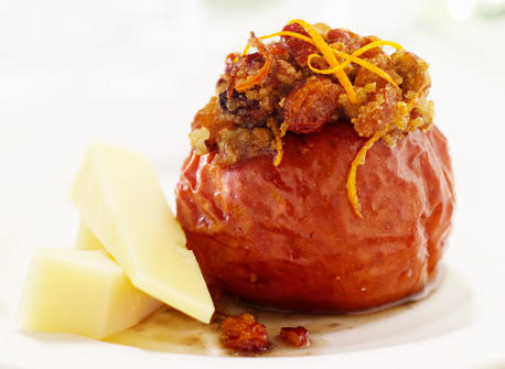 Pecan and Almond Baked Apples Recipe