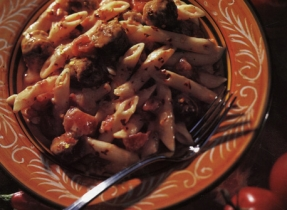 Penne and Italian Sausage