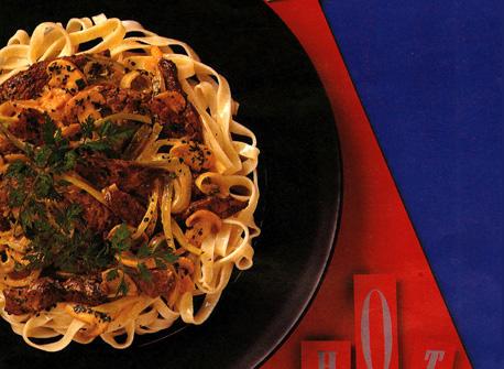 Peppery Beef Stroganoff Recipe