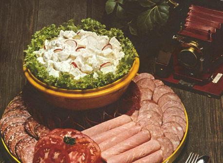Piquant Potato Salad Recipe