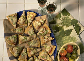 Pita Pizza Rounds